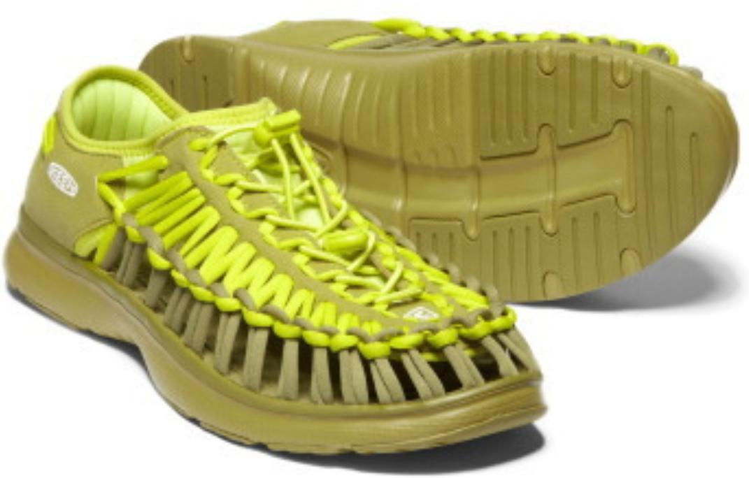 Keen Uneek O2 Taglia 7 M (B) Eu 37.5 Donna Sport Sandali Scarpe Muschio Solare /