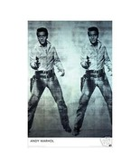 Andy Warhol Elvis Wall Poster Art 24x36 Free Shipping - $14.50