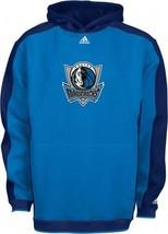 Adidas Dallas Mavericks Hooded Sweatshirt S Small Hoodie Hoody Dream Fleece Nba - $29.44