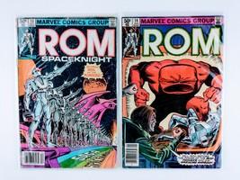 Rom SpaceKnight 4 Marvel Bronze Age Comics - #12 #13 #22 #25  - FREE SHIPPING - $21.78