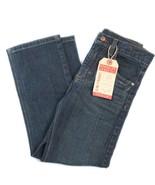 Wrangler Premium Kids Slim Straight Zip Jeans Adjustable Waistband 7R Bl... - $16.99