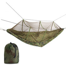 IPRee™ Portable Double Person Hammock Swing Hanging Nylon Bed With Mosqu... - $33.06