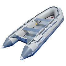 BRIS 12.5ft Inflatable Boat Inflatable Dinghy Rescue & Dive Raft Fishing Boat image 2