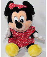 Vintage DISNEY RESORTS BABY MINNIE MOUSE Stuffed Plush SOFT TOY Cute DIS... - $14.84