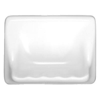 Ceramic Glaze Soap Dish Glossy Light Rose image 3