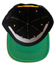 Young & Reckless Y&R LA Mens Black Yellow Snapback Baseball Hat New with Tags image 4