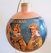 1981 Hummelwerk Manger Nativity Scene Glass Christmas Ornament Third Ann... - $8.90