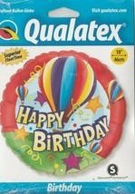 "Qualatex Suprafoil Round ""Happy Birthday""  18""  Foil Balloon (Hot Air Balloon) - $9.73"
