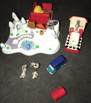Disney Polly POCKET 101 Dalmatians Bluebird 1998 Winter Scene Complete D... - $197.99