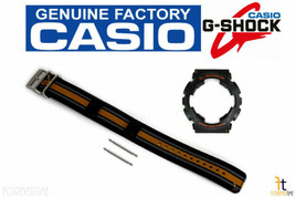CASIO GA-100MC-1A4 G-Shock Original Black Cloth Watch BAND & Rubber BEZE... - $70.61