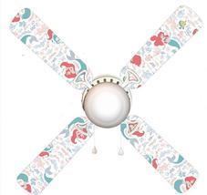 "Little Mermaid 42"" Ceiling Fan and Lamp - $77.99+"