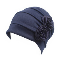 Women Western Style Accessories Chemotherapy Cap Hair Loss Comfortable  ... - €8,55 EUR
