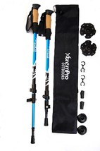 Hiking Trail Trekking Poles Lightweight 7075 Aluminum w/ Terrain Adapter... - £23.43 GBP