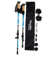Hiking Trail Trekking Poles Lightweight 7075 Aluminum w/ Terrain Adapter... - £23.14 GBP