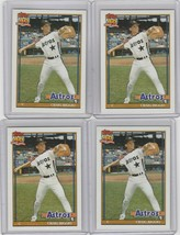 Craig Biggio 1991 Topps Glow Card Back UV Variant Baseball Card #565 Lot... - $10.00