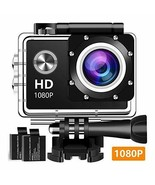 Action Camera Sport Camera 1080P Full HD Waterproof Underwater Camera wi... - $32.95