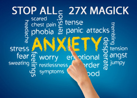 27X FULL COVEN STOP HALT ANXIETY UNNECESSARY STRESSES HIGH MAGICK 98 yr ... - $38.00