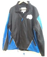 Los Angeles Clippers G-III Medium M Mens Full Zip Black And Blue Jacket EUC - $36.95