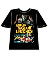 Attack of the Giant Leeches Movie Poster T-Shirt Size XL, NEW UNWORN - $14.50