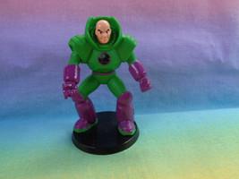 DC Comics Miniature Superman Lex Luthor Plastic Figure on Base - $2.36
