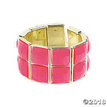Two Square Pink Bracelet Craft Kit - $5.19