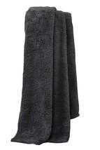 Super Soft Sherpa Teddy Bear Fleece Charcoal Grey Throw Blanket 200CM X 240CM - $23.14