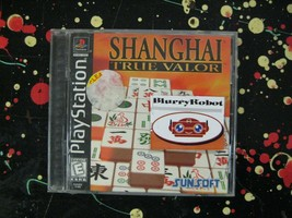 Shanghai: True Valor PlayStation 1 PSX Mahjong / Shanghai Tile Puzzle Game - $10.25