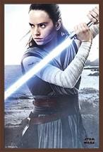 "Trends International Star Wars: The Last Jedi - Rey Wall Poster, 22.375""... - $50.66"