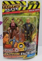 The Corps! Elite Faction Face-Off - PUMA vs. DIESEL by Lanard Toys  - $8.50