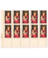 1336 Christmas Madonna And Child Issue 5 Cent 1967 Postage Stamp OG NH - $7.92