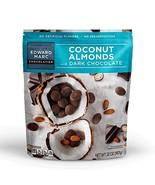Edward Marc Chocolatier Coconut Almonds Dark Chocolate 32 oz. 1 bag of 3... - $20.57