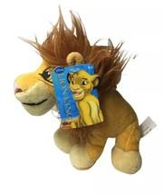 "Disney Lion King Adult Simba Plush Stuffed Toy 6"" Just Play - $16.78"