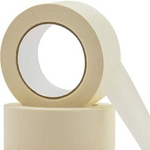 No-Residue 2 Inch, 60 Yard Masking Tape 2 Pk. Easy-Tear, Pro-Grade Remov... - £17.48 GBP