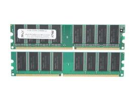 PNY Optima 2GB (2 x 1GB) 184-Pin DDR SDRAM DDR 400 (PC 3200) Desktop Spe... - $59.34