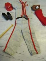 1963 Mattel BARBIE-KEN #792 Play Ball Baseball Outfit Complete !! - $54.40