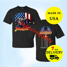 Journey band t Shirt tour dates 2019 Size Mens Black T-Shirt Gildan - $23.99+