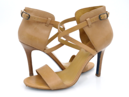 Maria Sharapova By Cole Haan Womens 8.5 B Brown Solid Ankle Strap Pump H... - $39.99