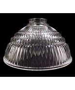 Holophane Style Ribbed Industrial Pendant Light... - $14.95