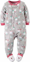 NEW! Carter's Toddler Footie Pajamas Sleeper Snowman 5T - $14.85