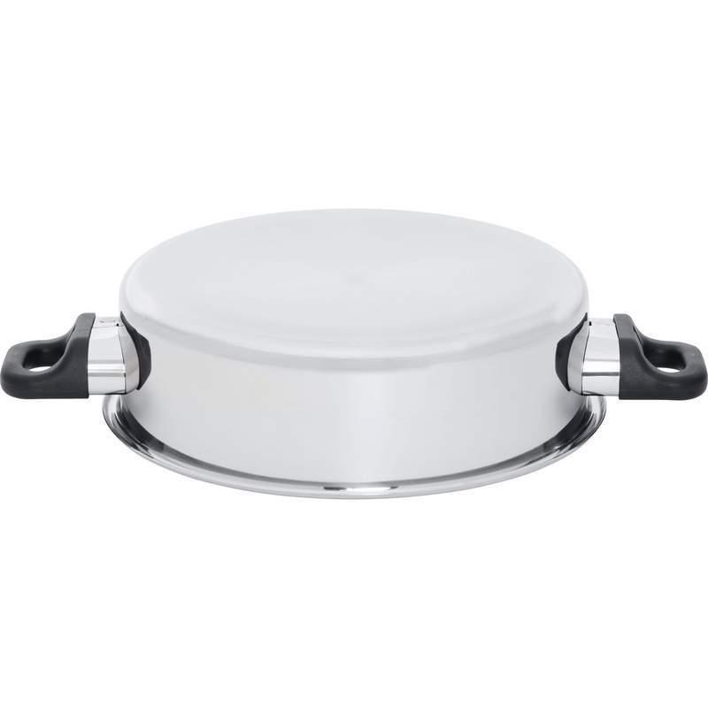15pc SS Waterless Cookware Set Maxam Chefs Secret Stainless Steel