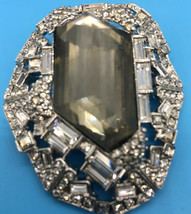 Alexis Bittar Vintage Pave Pyrite Brooch Pin - $275.83
