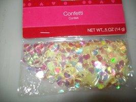 """Confetti """"Opaque Hearts"""" .5 Oz. - $2.96"""