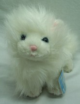 "Ganz Webkinz WHITE FLUFFY PERSIAN CAT 9"" Plush Stuffed Animal TOY NEW w/... - $16.34"
