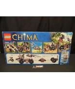 Lego Legends of Chima 70009 Worriz Combat lair 664 pieces sealed unopened - $82.99