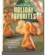 The Food & Wine Holiday Cookbook - $2.99