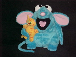 "8"" Tutter Mouse Holding Kitty Plush Toy Bear In The Big Blue House Disne... - $74.24"