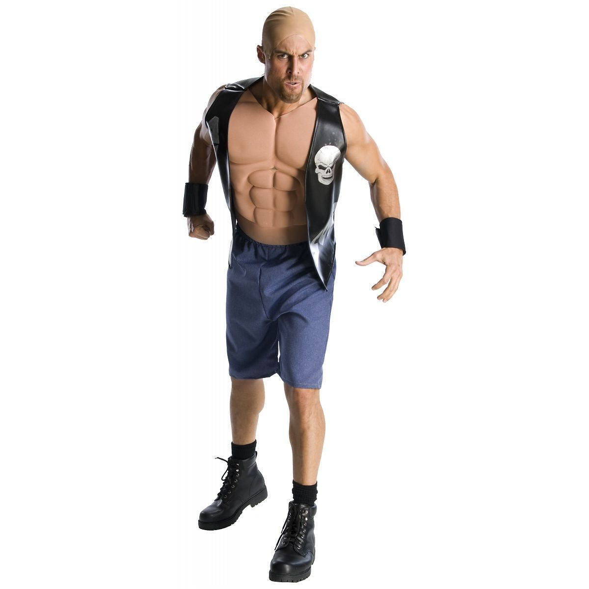Primary image for Stone Cold Steve Austin Costume WWE WCW Halloween Fancy Dress