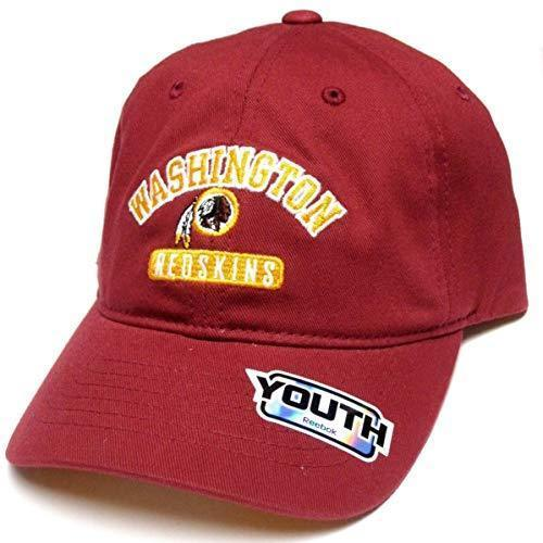 0ce203c85 Washington Redskins NFL Reebok Youth Red Slouch Relaxed Hat Cap Adjustable  -  14.99