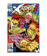 X Force 12 Externals Clash Marvel 1992 XForce - $1.71