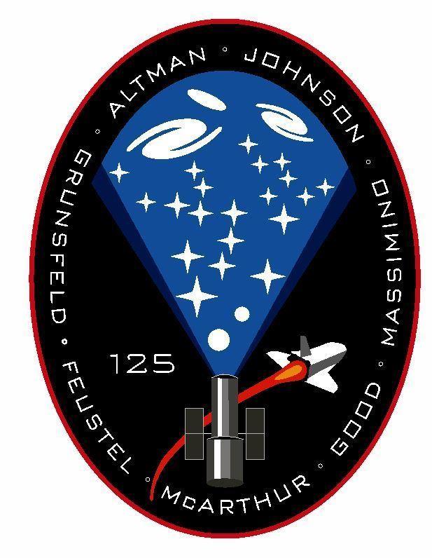 STS-125 Nasa Atlantis Sticker M574 Space Program - $1.45 - $9.45